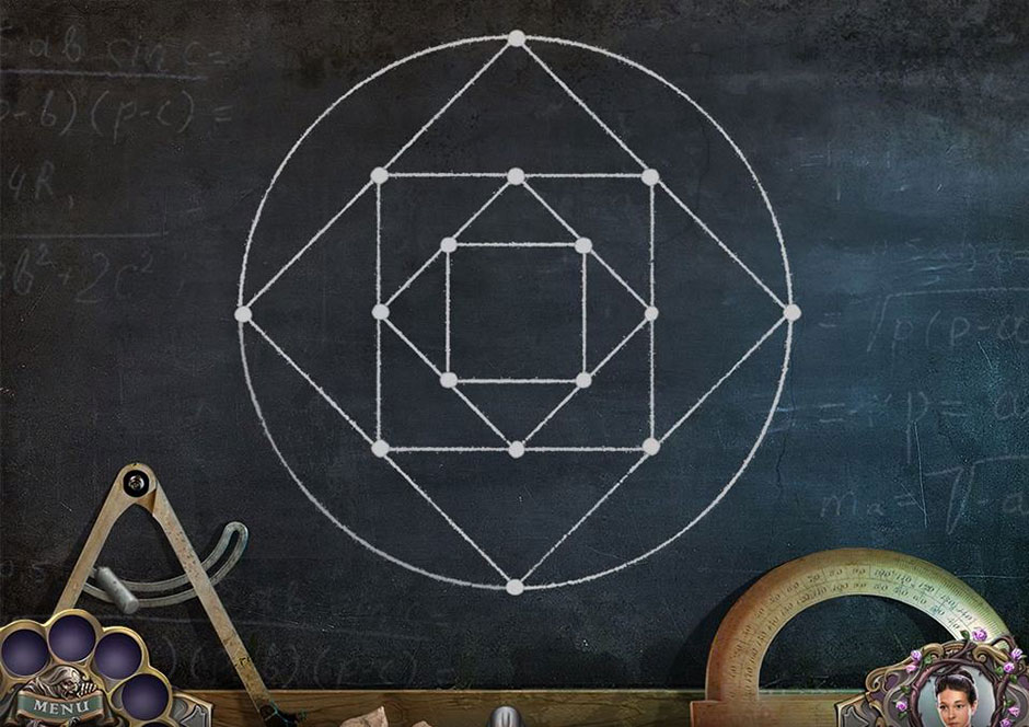 Witch Hunters - Stolen beauty - Chalkboard Puzzle Solution