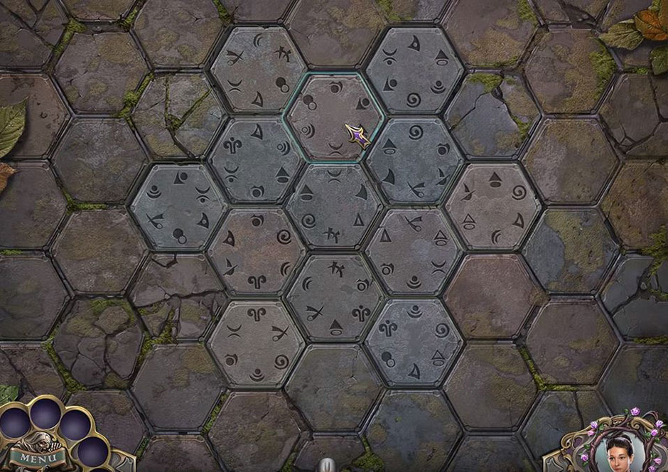 Witch Hunters - Stolen beauty - Hexagon Puzzle Solution