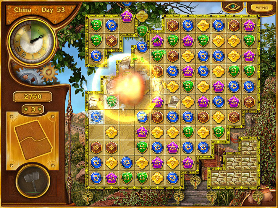 bejeweled 80 jours