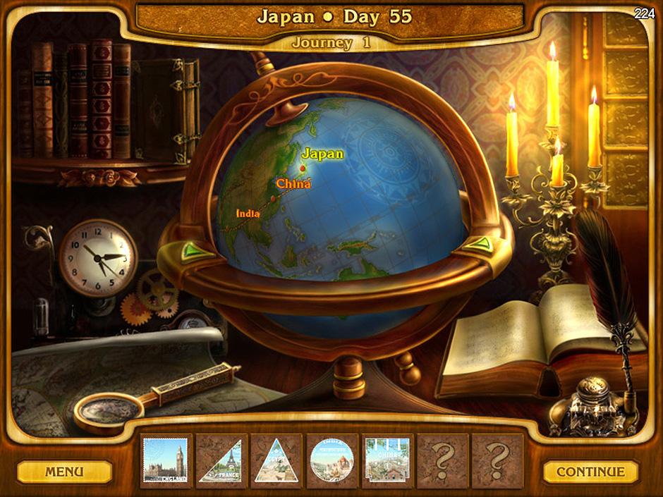 Around the World in 80 Days - Journey