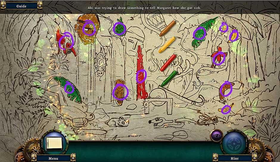 Botanica - Into the Unknown - Coloring Mini Game