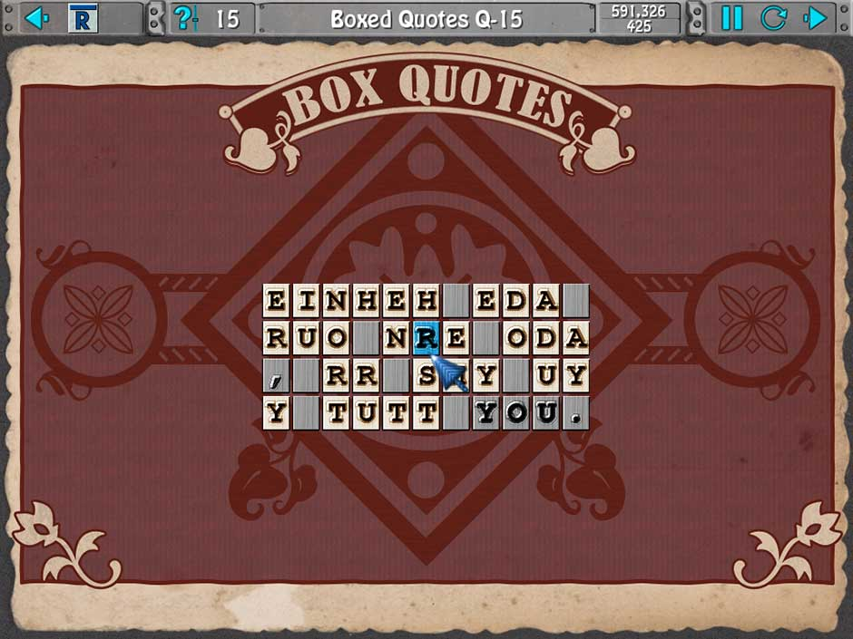 Clutter IV - Minigame Madness - Boxed Quotes