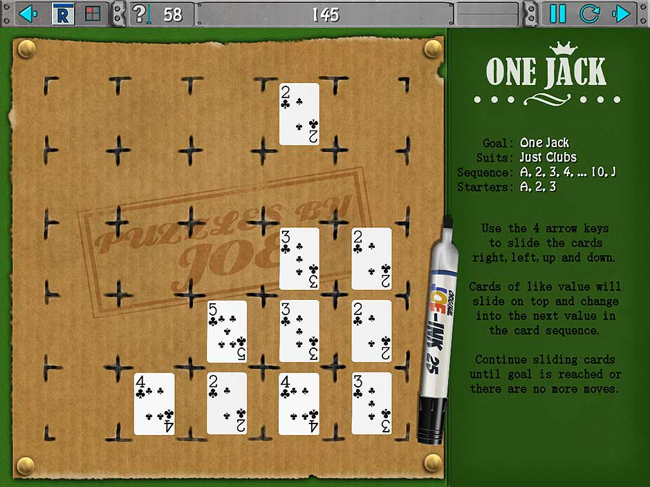 Clutter IV - Minigame Madness - One Jack