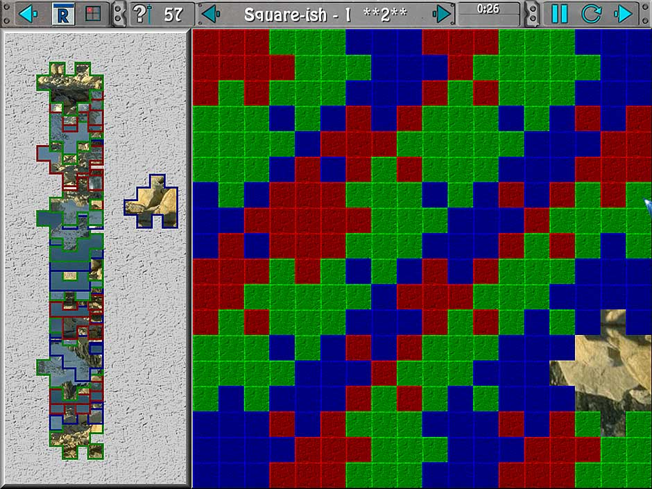 Clutter IV - Minigame Madness - Square Jigsaw
