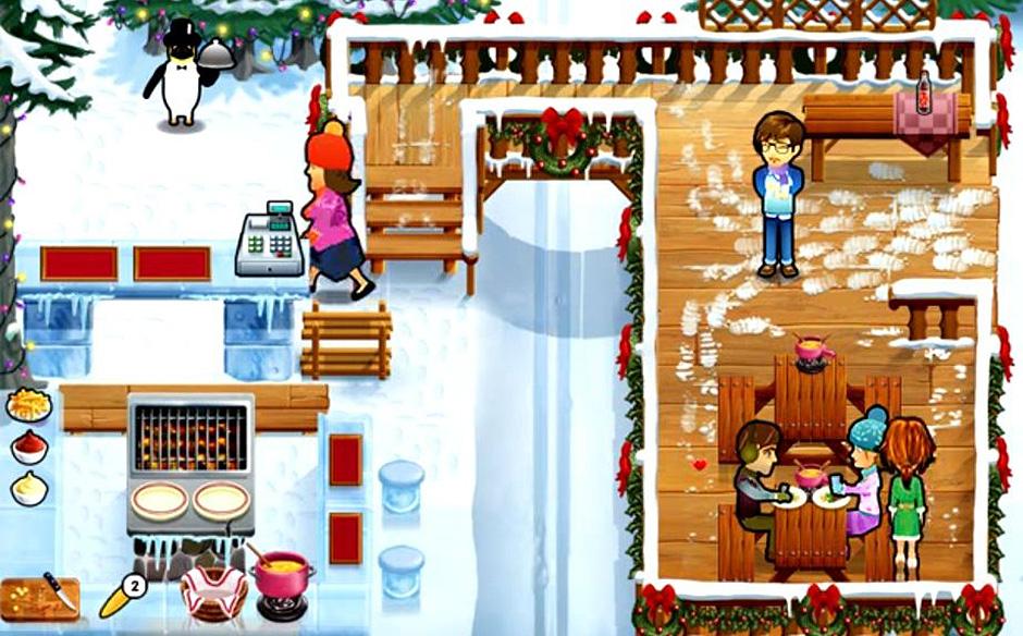 Delicious - Emily's Holiday Season - Day 1 Ski Slope