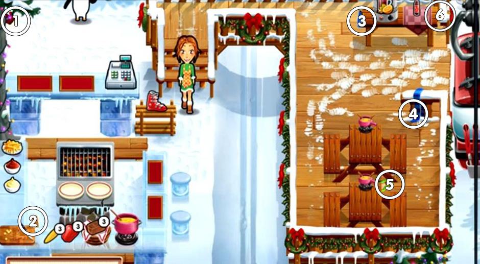 Delicious - Emily's Holiday Season - Day 3 Ski Slope