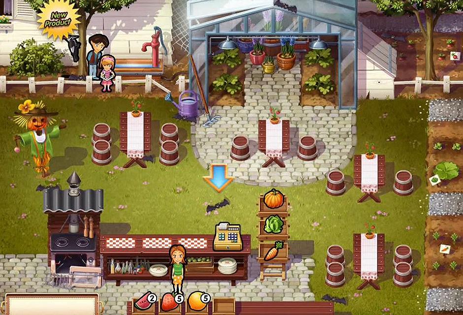 Delicious - Emily's Holiday Season - Day 3 The Garden