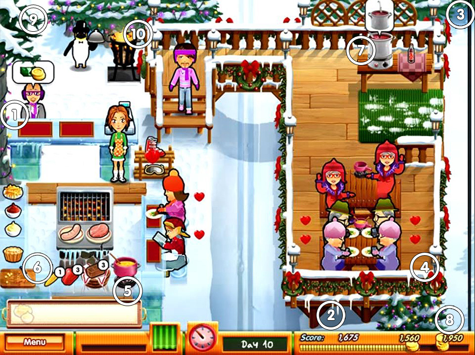 Delicious - Emily's Holiday Season - Mouse Locations Ski Slope