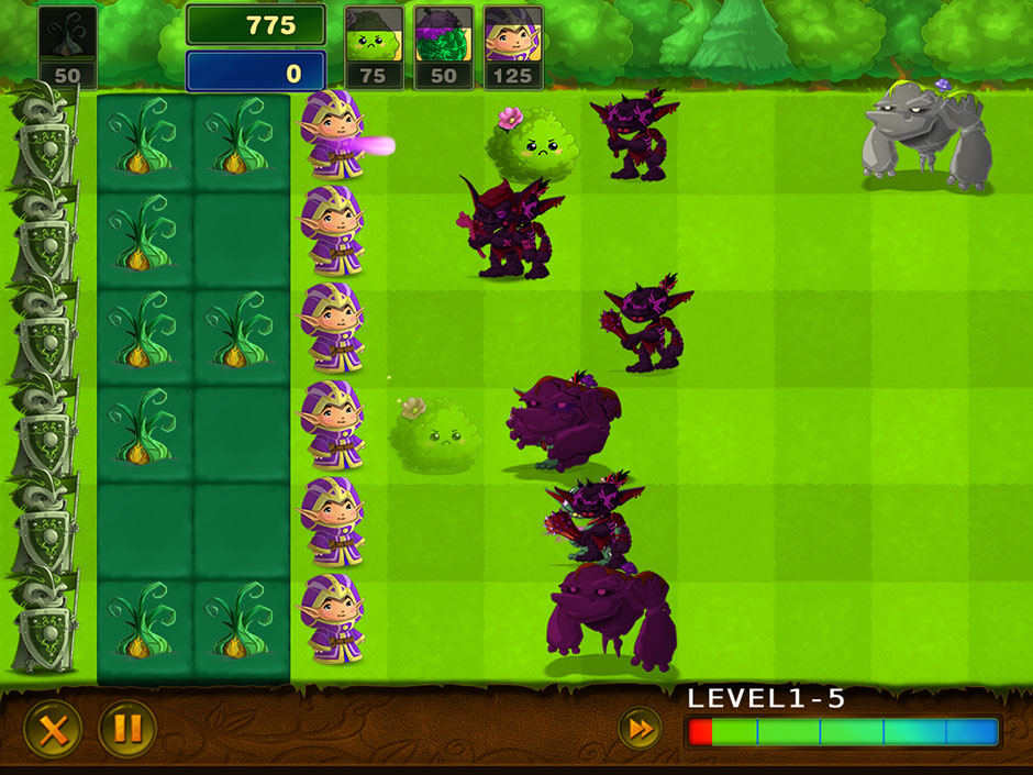 Elves Vs Goblins – Defender Battle