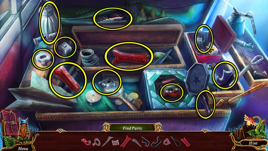 Eventide - Slavic Fable Car Hidden Object Scene