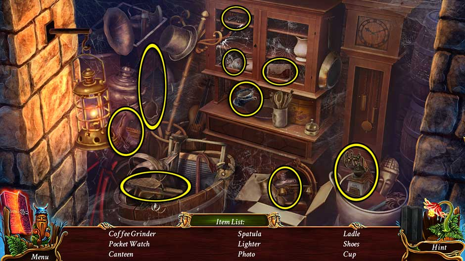 Eventide - Slavic Fable Courtyard Hidden Object Scene Revisited