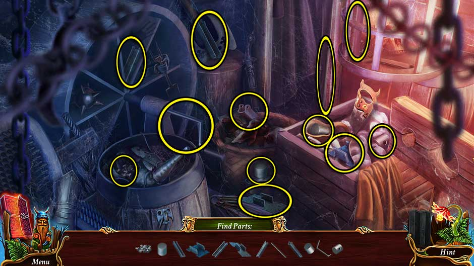 Eventide - Slavic Fable Dungeon Hidden Object Scene Revisited