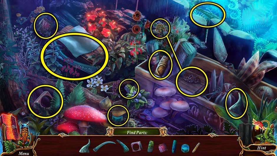 Eventide - Slavic Fable Fern Hidden Object Area Revisited