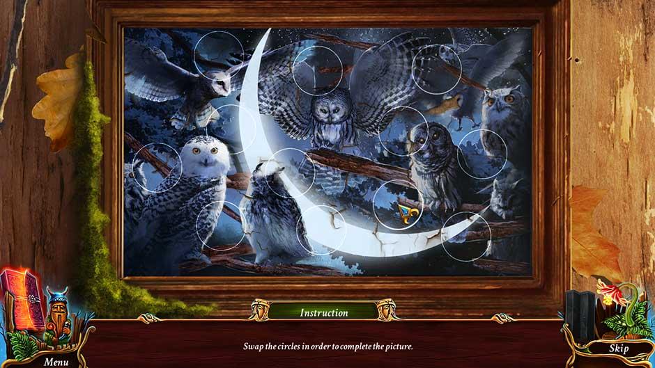 Eventide - Slavic Fable Owl Token Puzzle