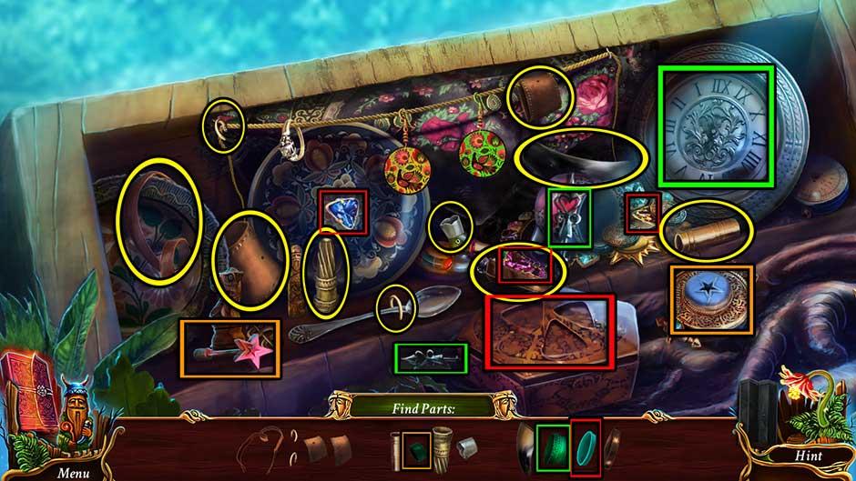 Eventide - Slavic Fable Terrace Hidden Object Area