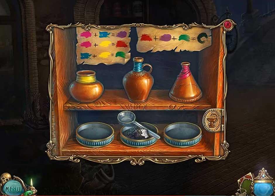 Haunted Legends - The Undertaker - Ingredients