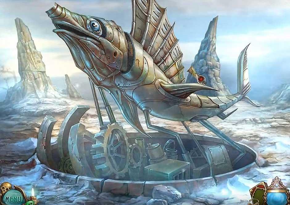 Haunted Legends - The Undertaker - Mechanical Fish