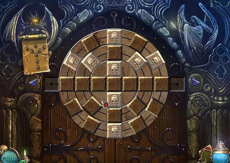 Haunted Legends - The Undertaker - Skull Disk