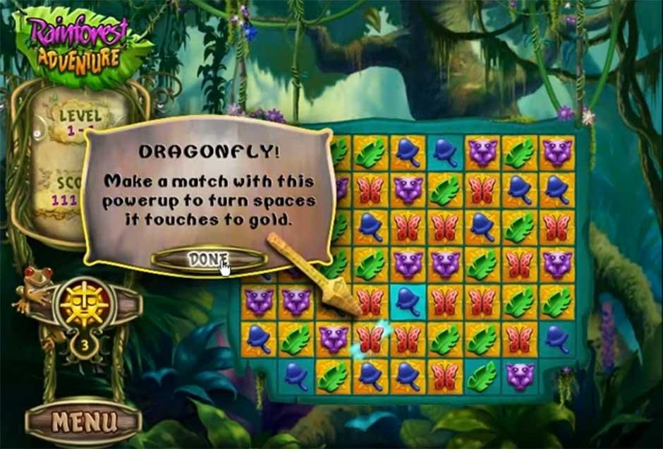 Rainforest Adventure - Dragonfly