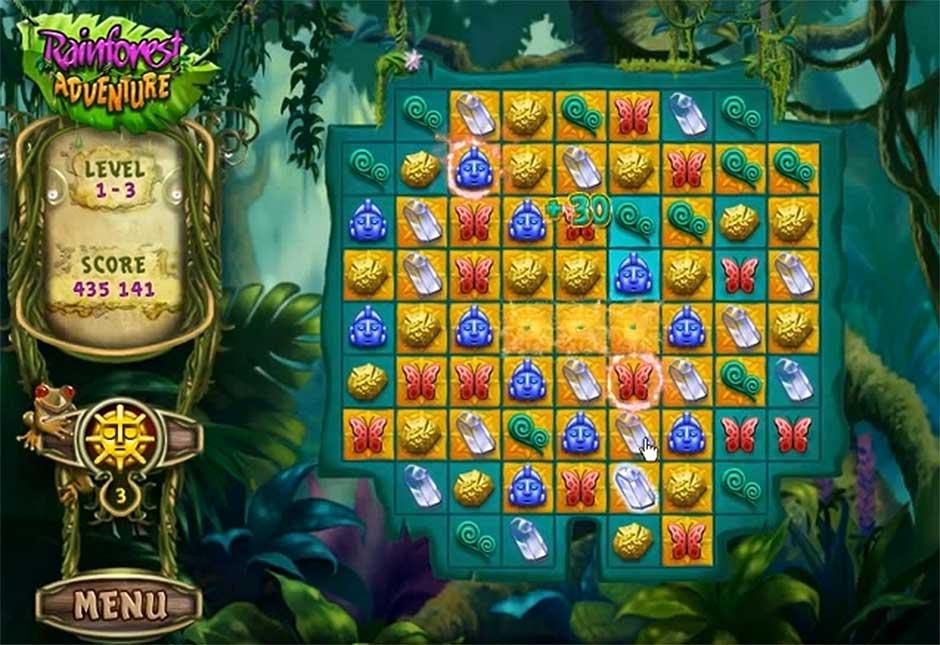 Rainforest Adventure - Gameplay