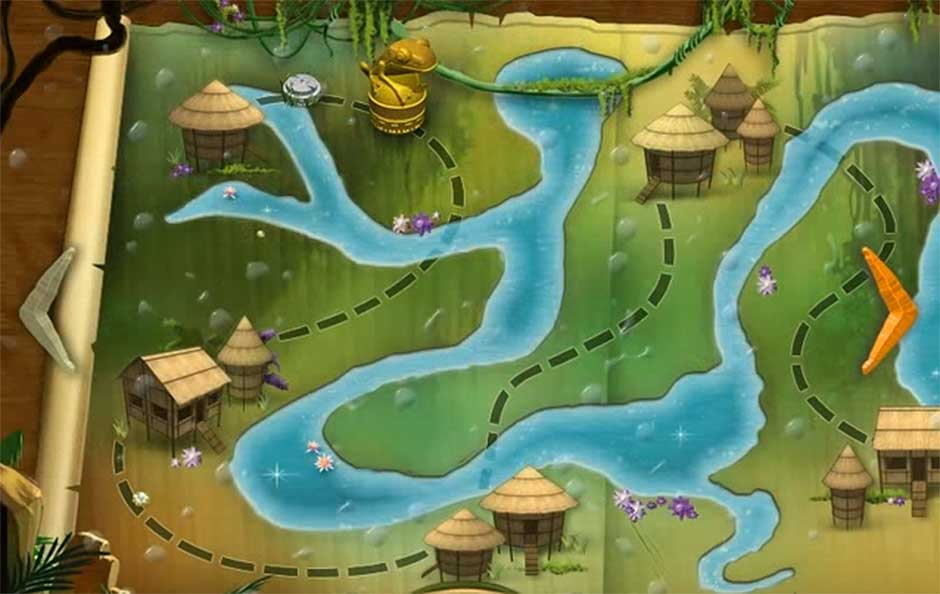 Rainforest Adventure - Map