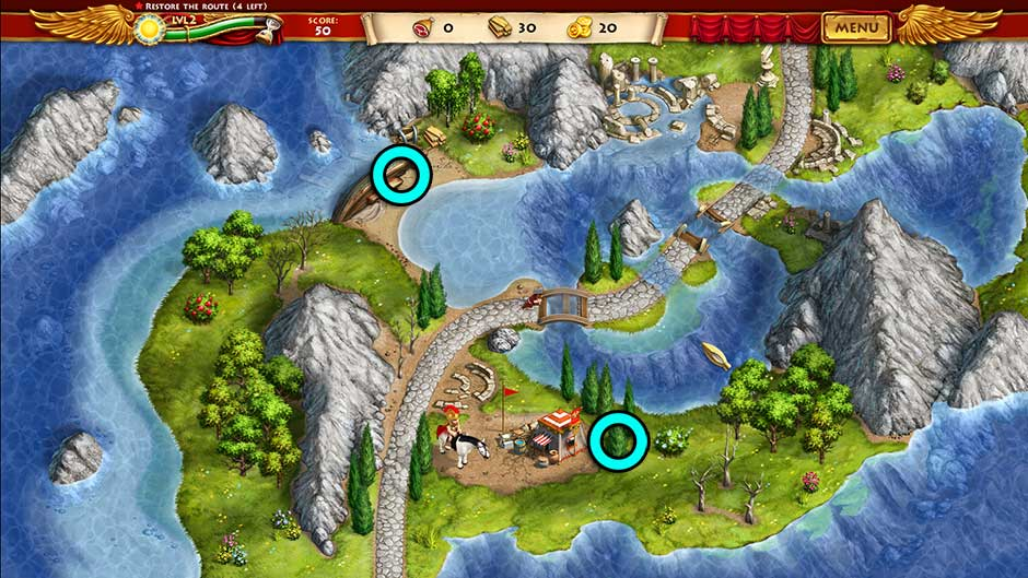 Roads of Rome New Generation Hidden Treasure Location Level 2