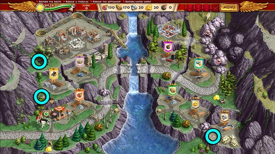 Roads of Rome New Generation Hidden Treasure Location Level 24