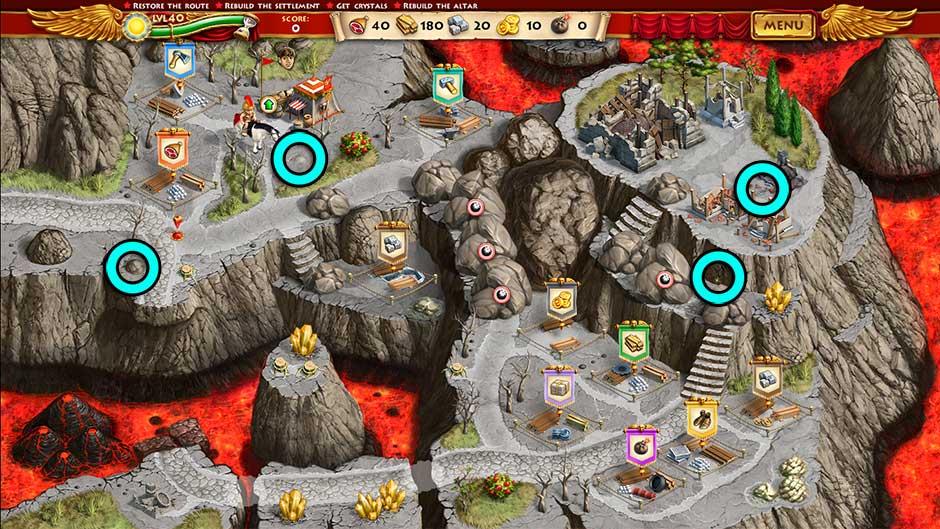 Roads of Rome New Generation Hidden Treasure Location Level 40