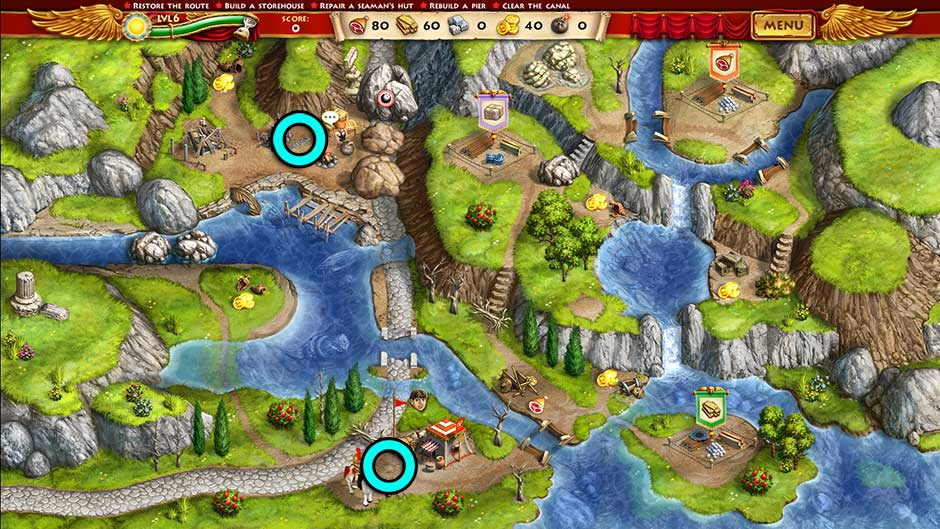 Roads of Rome New Generation Hidden Treasure Location Level 6