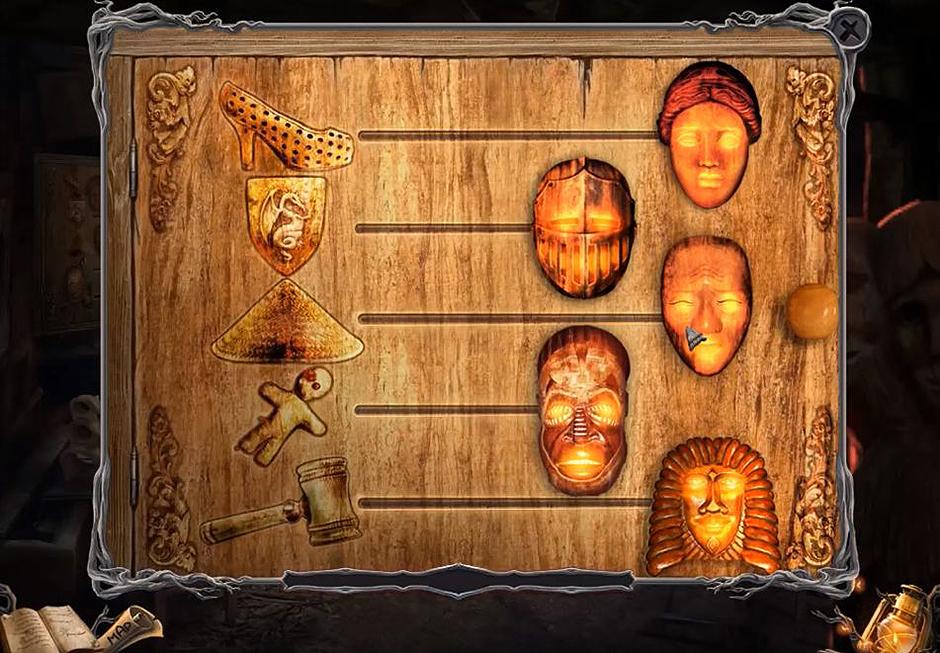Sable Maze – Sullivan River - Masks