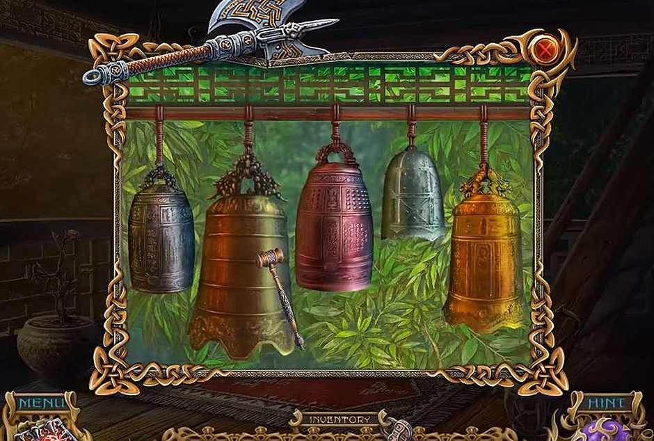 Spirits of Mystery - The Dark Minotaur -Bell Hammer