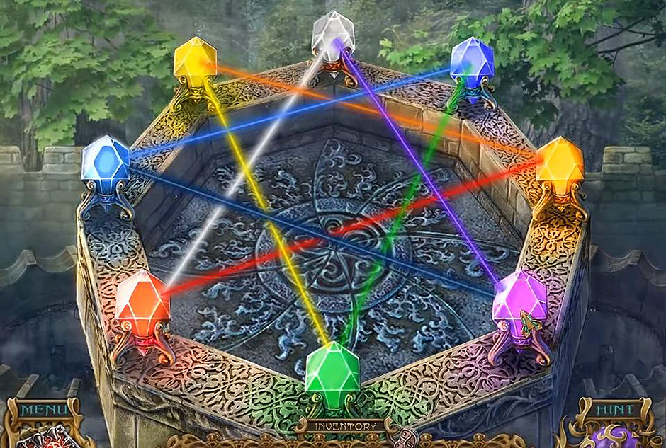 Spirits of Mystery - The Dark Minotaur -Lights