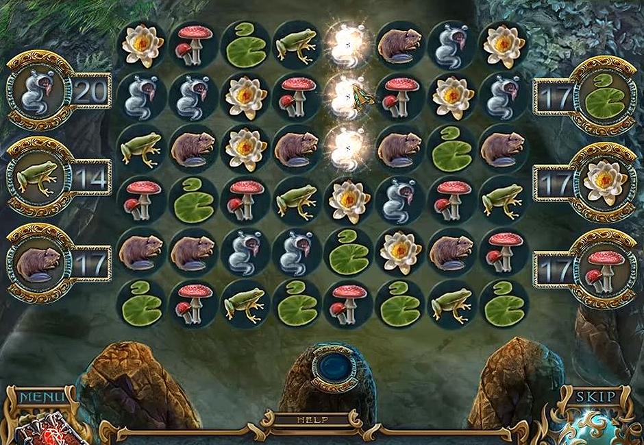 Spirits of Mystery - The Dark Minotaur -Match Game