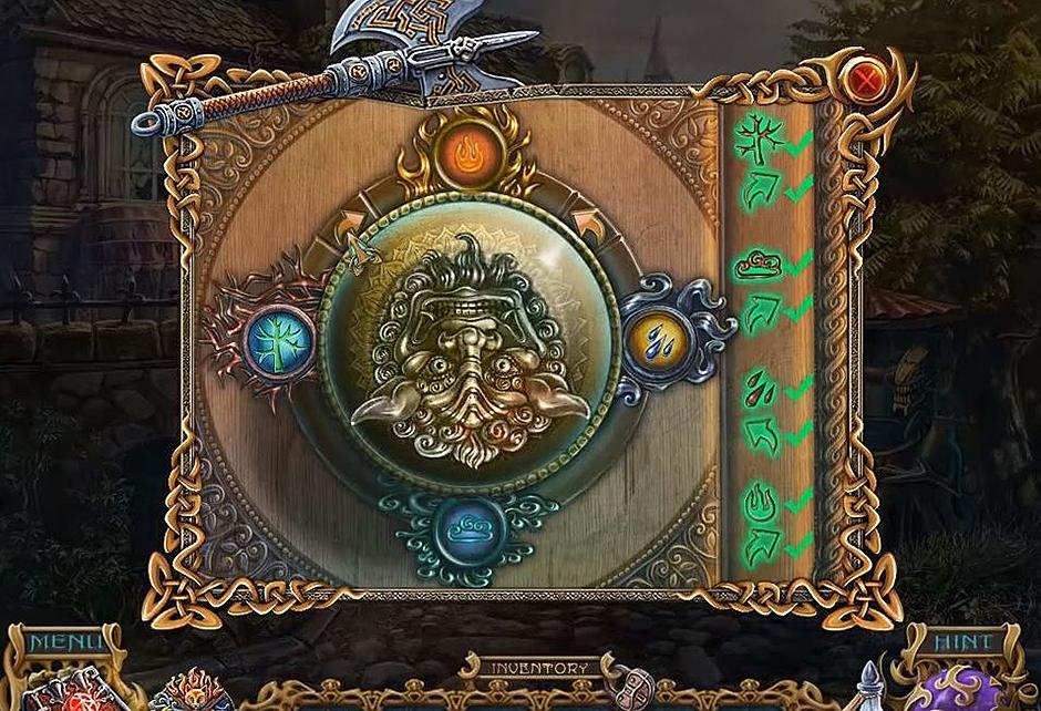 Spirits of Mystery - The Dark Minotaur -Mini Puzzle 2