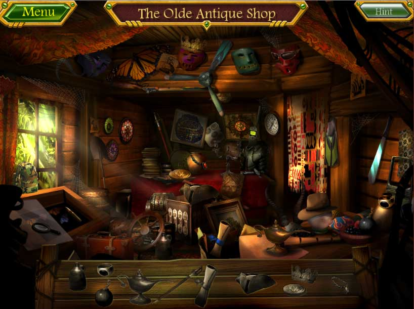Arizona Rose and the Pirates' Riddles - Hidden Objects