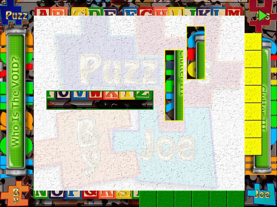 Clutter III - Who is the Void - Puzzle 3