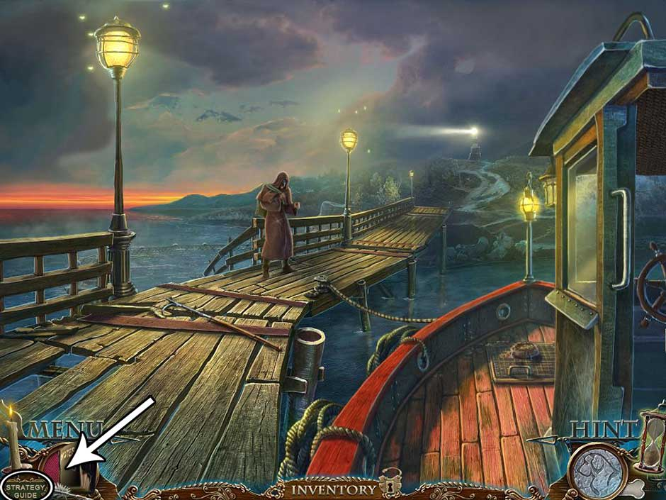 Dark Tales - Edgar Allan Poes The Gold Bug Walkthrough Location