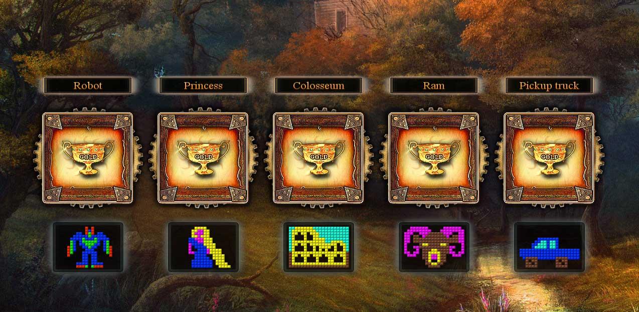 Fantasy Mosaics 9 - Portal in de Woods - 11