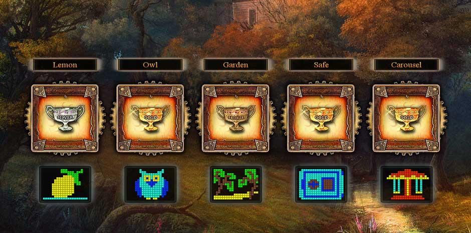 Fantasy Mosaics 9 - Portal in de Woods - 14