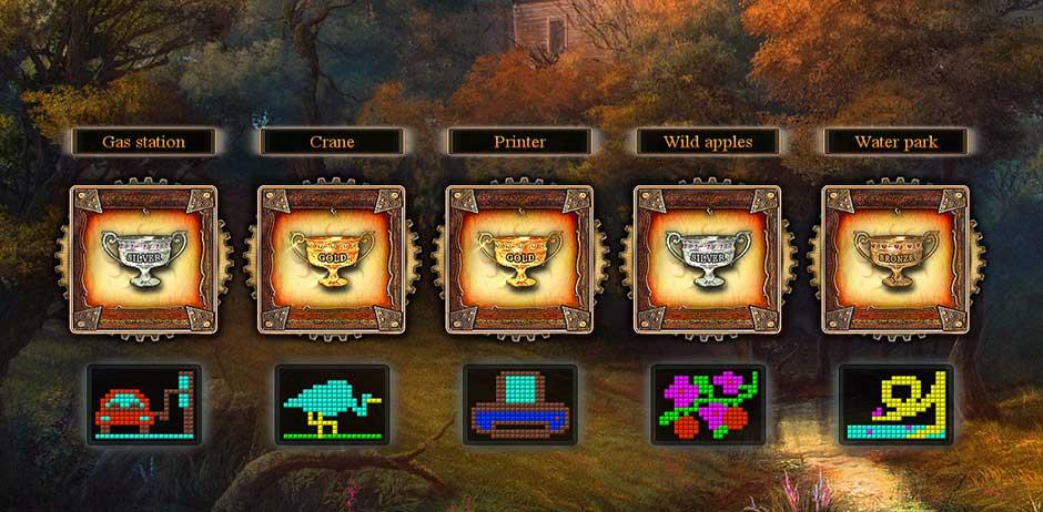 Fantasy Mosaics 9 - Portal in de Woods - 17
