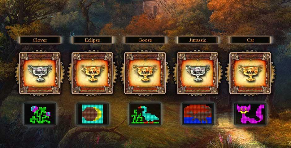 Fantasy Mosaics 9 - Portal in de Woods - 4