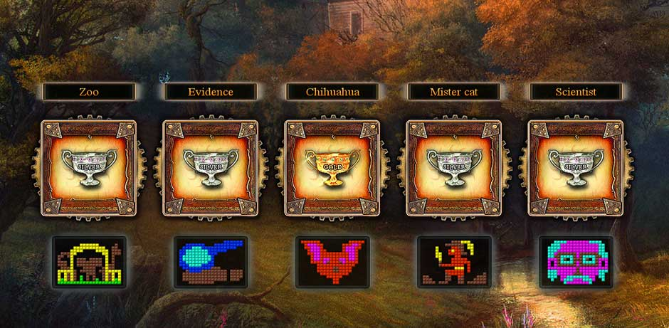 Fantasy Mosaics 9 - Portal in de Woods - 7