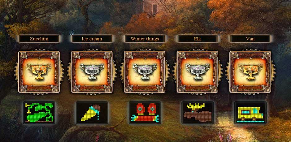 Fantasy Mosaics 9 - Portal in de Woods - 8