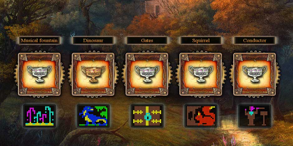 Fantasy Mosaics 9 - Portal in de Woods - 9