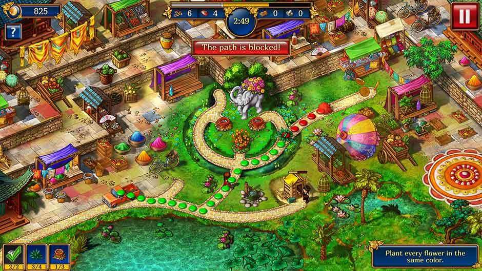 Gardens Inc 4 – Blooming Stars Path
