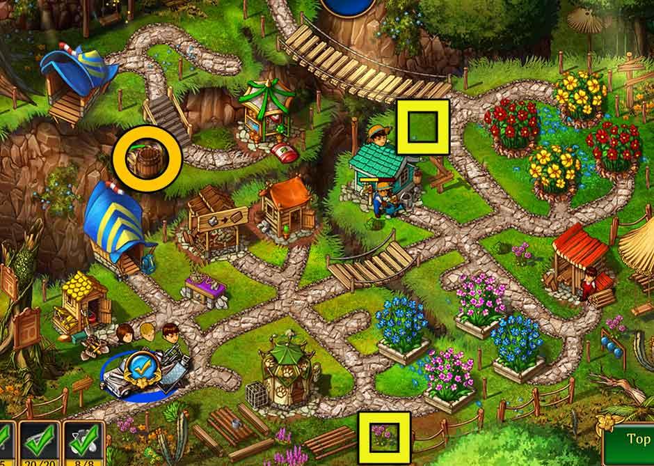 Gardens Inc 3 Walkthrough Level 11 - Garden Designs