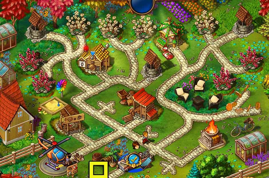 Gardens Inc. 4 - Blooming Stars Walkthrough - GameHouse