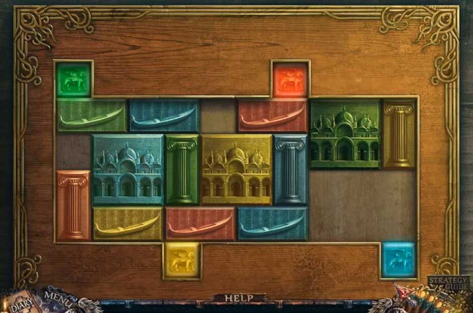 Grim Facade - Mystery of Venice - Lions Puzzle