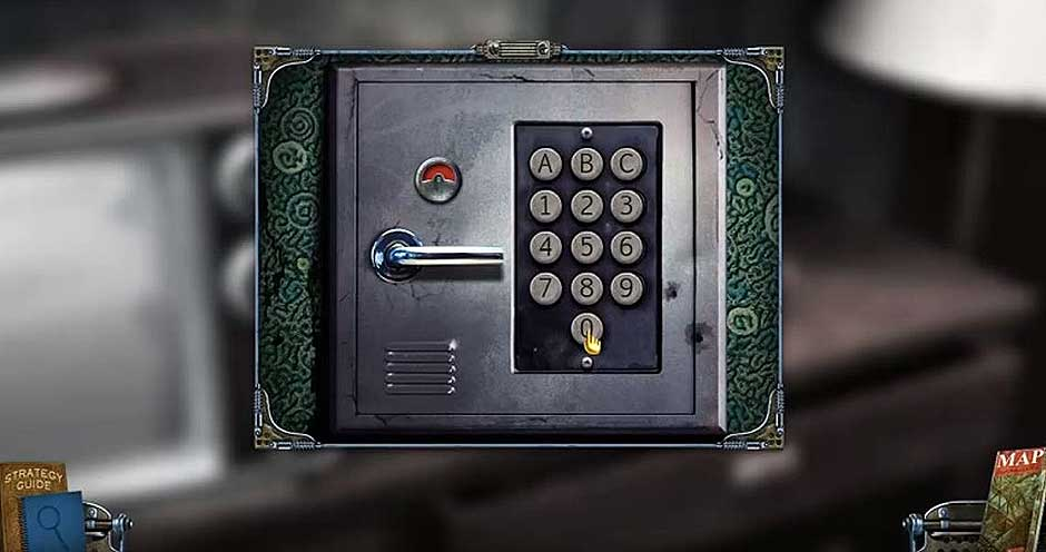 Mystery Case Files - Shadow Lake - Safe