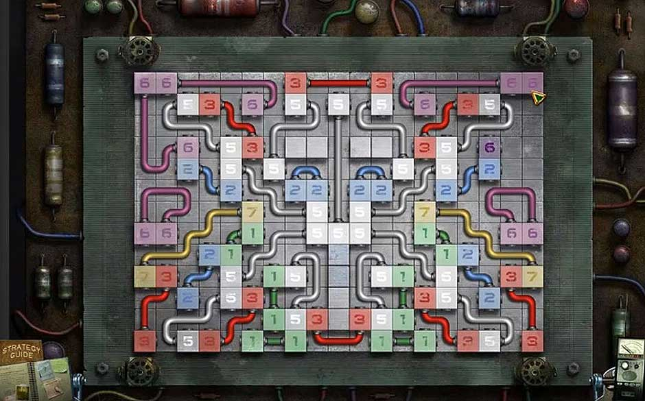Mystery Case Files - Shadow Lake - Wires Puzzle